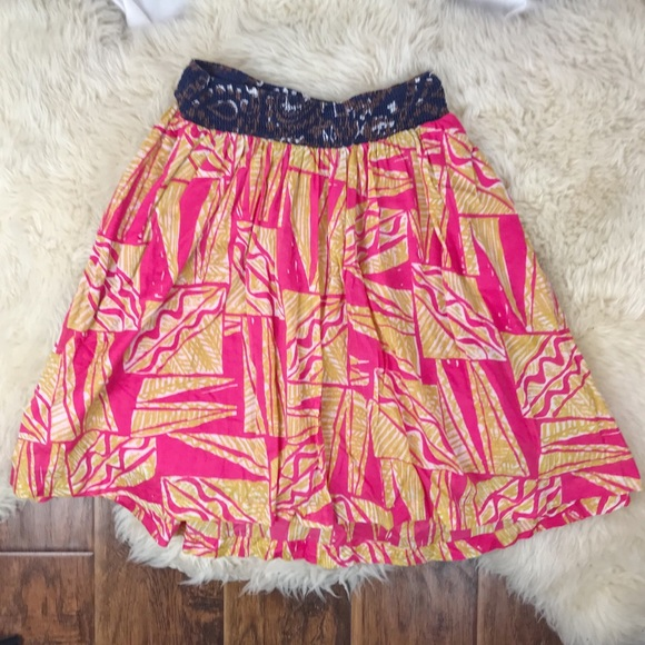 Clothing, Shoes & Accessories Beautiful Anthropology Nwt Size 6 Vanessa Virginia Tamarind Skirt